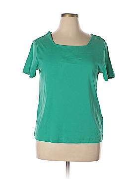 Casual Corner Annex Short Sleeve T-Shirt Size 1X (Plus)