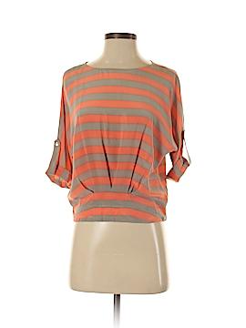 BCBGMAXAZRIA 3/4 Sleeve Silk Top Size XXS
