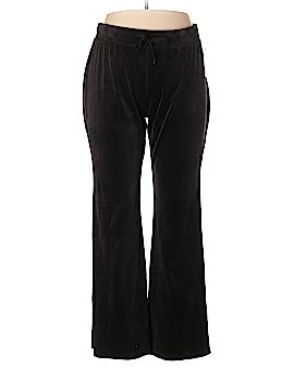 Basic Editions Velour Pants Size XL