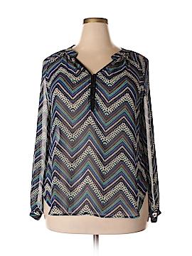 Fun2Fun Long Sleeve Blouse Size XL