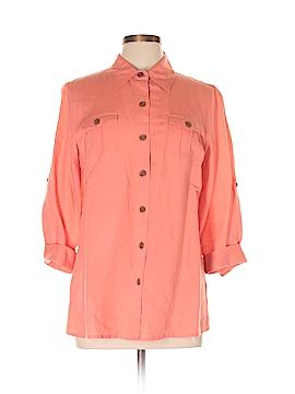 Van Heusen 3/4 Sleeve Blouse Size L
