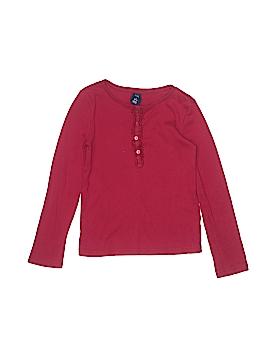 Gap Kids Long Sleeve Henley Size 6 - 7