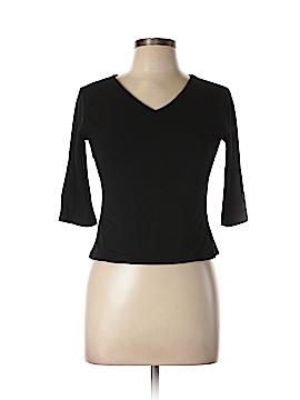 Petite Sophisticate 3/4 Sleeve T-Shirt Size L