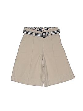 Burberry Khaki Shorts Size 2