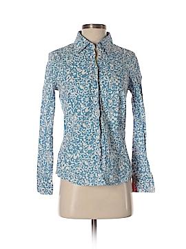 Boden Long Sleeve Button-Down Shirt Size 4