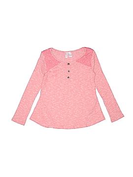 Xhilaration Long Sleeve Top Size 7 - 8