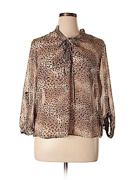 Tacera Long Sleeve Blouse Size XL (Petite)