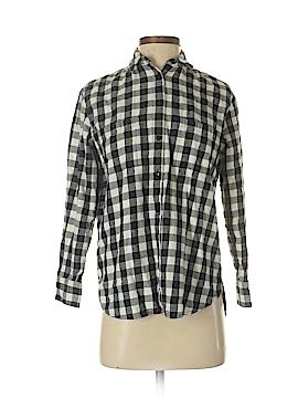 Madewell Long Sleeve Button-Down Shirt Size XXS