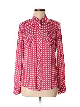 Cremieux Long Sleeve Button-Down Shirt Size M