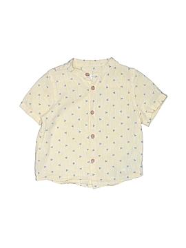 Zara Short Sleeve Button-Down Shirt Size 18