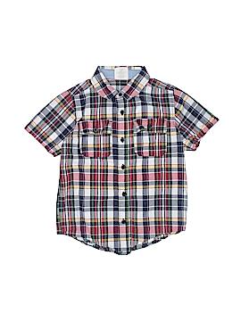 Crazy 8 Short Sleeve Button-Down Shirt Size 5