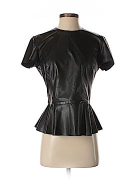 Ralph Lauren Black Label Leather Top Size 6