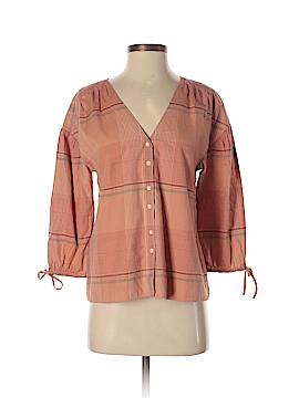 Madewell 3/4 Sleeve Button-Down Shirt Size XS