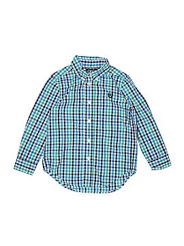 Chaps Long Sleeve Button-Down Shirt Size 4