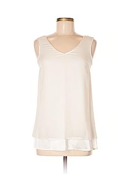 St. John Collection Sleeveless Silk Top Size XS