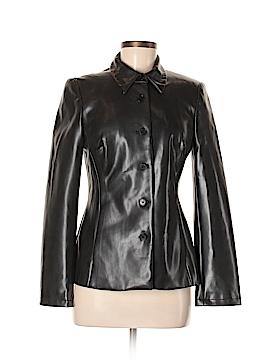 BCBGMAXAZRIA Faux Leather Jacket Size 6