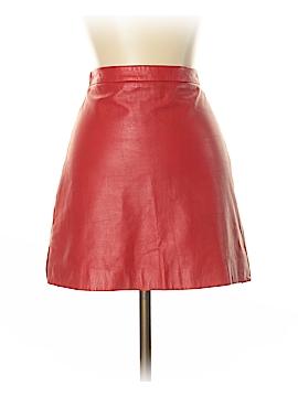 BCBGMAXAZRIA Leather Skirt Size S
