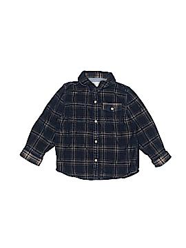 Zara Long Sleeve Button-Down Shirt Size 2 - 3