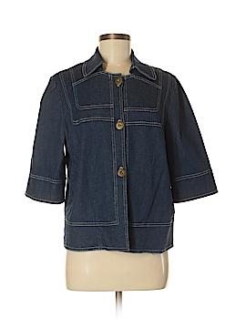 Susan Graver Denim Jacket Size M