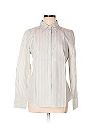 J. Crew Factory Store Women Long Sleeve Button-Down Shirt Size M