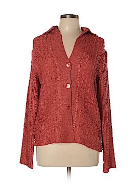DressBarn Long Sleeve Blouse Size L