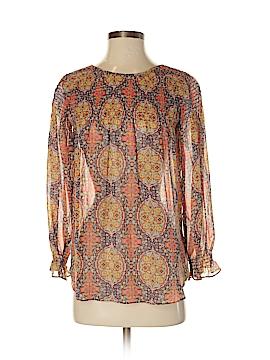 Sundance Long Sleeve Silk Top Size XS