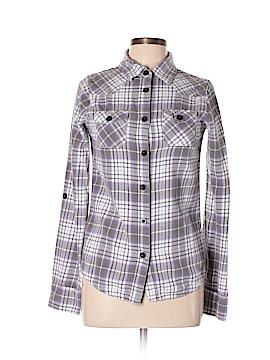 O'Neill Long Sleeve Button-Down Shirt Size L