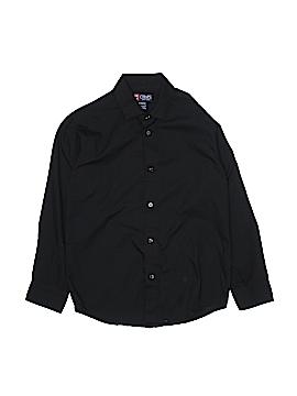 Champion Long Sleeve Button-Down Shirt Size 10