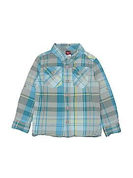 Tea Long Sleeve Button-Down Shirt Size 3T