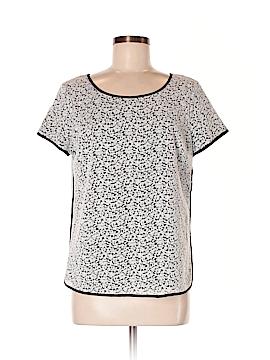Lands' End Short Sleeve Blouse Size 8