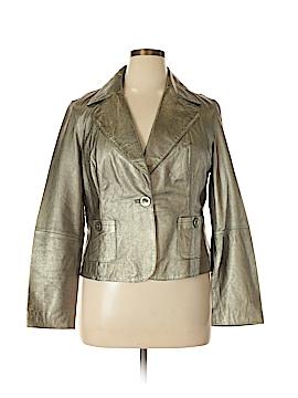 Spiegel Leather Jacket Size 18 (Plus)