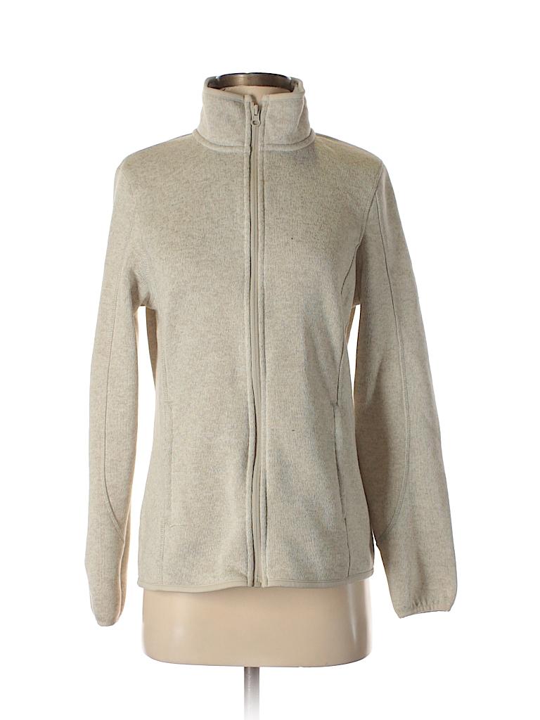 Walmart 100 Polyester Solid Beige Jacket Size M 63 Off Thredup