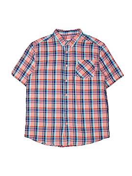 Ben Sherman Short Sleeve Button-Down Shirt Size 14 - 15