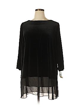 Alfani Essentials 3/4 Sleeve Blouse Size 3X (Plus)