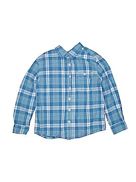 Cherokee Long Sleeve Button-Down Shirt Size 6 - 7