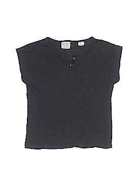 Zara Short Sleeve Henley Size 2 - 3