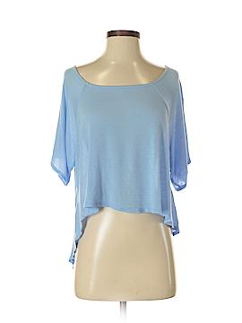 Blue Rain Short Sleeve Top Size S