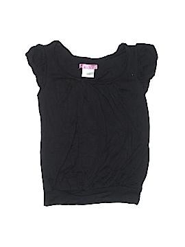 Aqua Short Sleeve Top Size M (Kids)