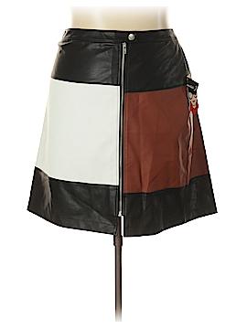 INC International Concepts Faux Leather Skirt Size 24 (Plus)