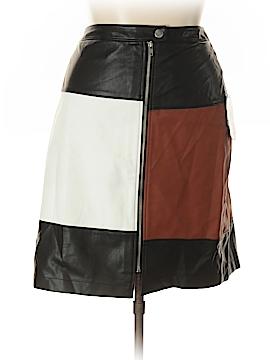 INC International Concepts Faux Leather Skirt Size 20 (Plus)