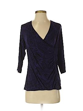 Dana Buchman 3/4 Sleeve Top Size L (Petite)