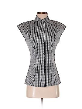 Michael Kors Short Sleeve Button-Down Shirt Size 4