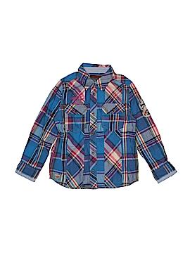 Catimini Long Sleeve Button-Down Shirt Size 5