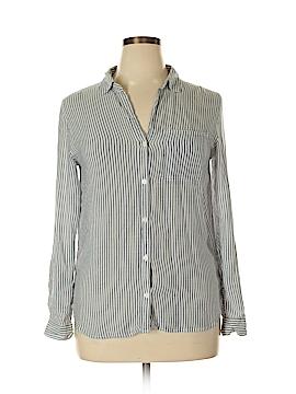 Velvet Heart 3/4 Sleeve Button-Down Shirt Size L