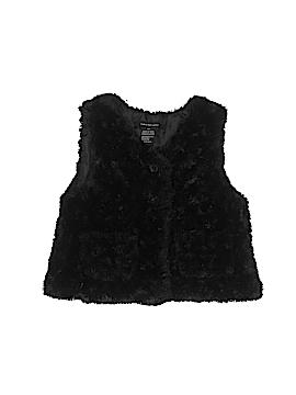 CALVIN KLEIN JEANS Faux Fur Vest Size 4T