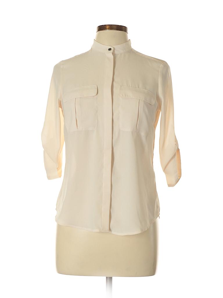 H&M Women 3/4 Sleeve Blouse Size 6