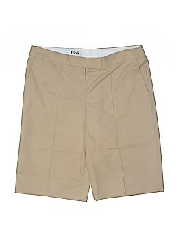 Chloé Khaki Shorts Size 38 (EU) (Tall)