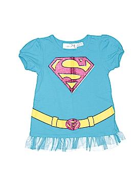 Super Girl Short Sleeve Top Size 5T