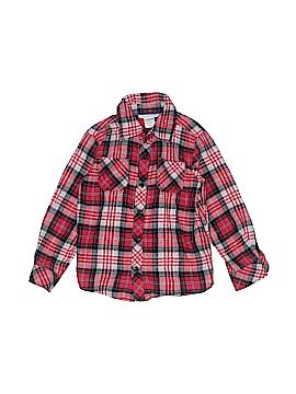 Toughskins Long Sleeve Button-Down Shirt Size 4