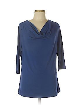 Kim Rogers 3/4 Sleeve Top Size L